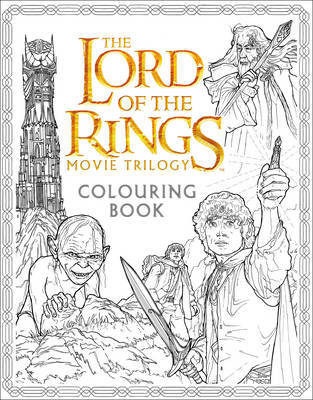The Lord of the Rings Colouring Book