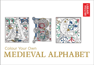 Large colour your own medieval alphabet