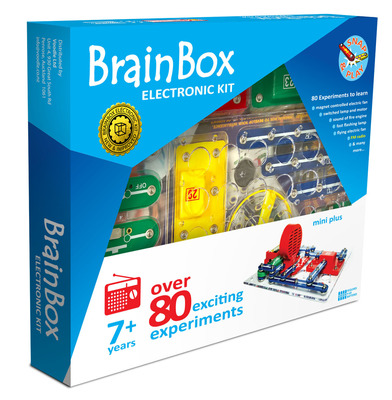 Brain Box  Electronic Kit : over 80 Experiments Plus FM Radio