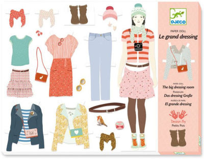 A Well-Stocked Wardrobe Paper Doll Kit