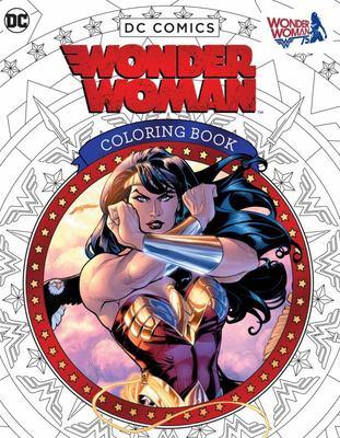 Wonder Woman Coloring Book DC Comics