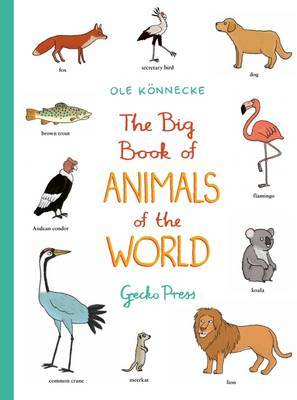 The Big Book of Animals of the World (Large Board)