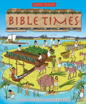 Look Inside Bible Times (Lift-the-Flap Board Book)