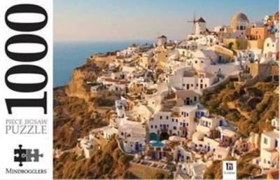 1000 Piece Jigsaw Puzzle Santorini Greek Islands