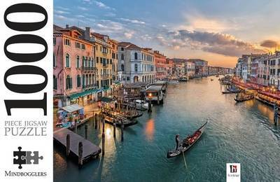 Grand Canal Italy: 1000-Piece Jigsaw Puzzle Mindbogglers