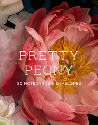 Pretty Peonies Notecards (Box of 20 Cards)