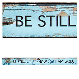Magnetic Strip Be Still and Know