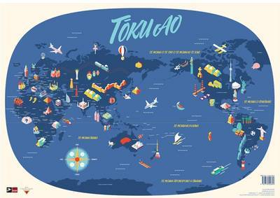 Toku Ao: World Map in Maori