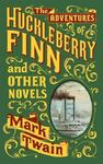 The Adventures of Huckleberry Finn and Other Novels (Leather bound)