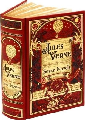 Jules Verne: Seven Novels (Leather bound)