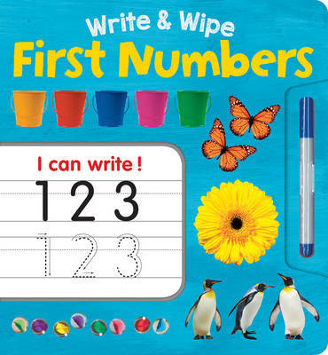 First Numbers (Write & Wipe Plus Pen)