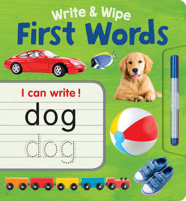 First Words (Write & Wipe Plus Pen)