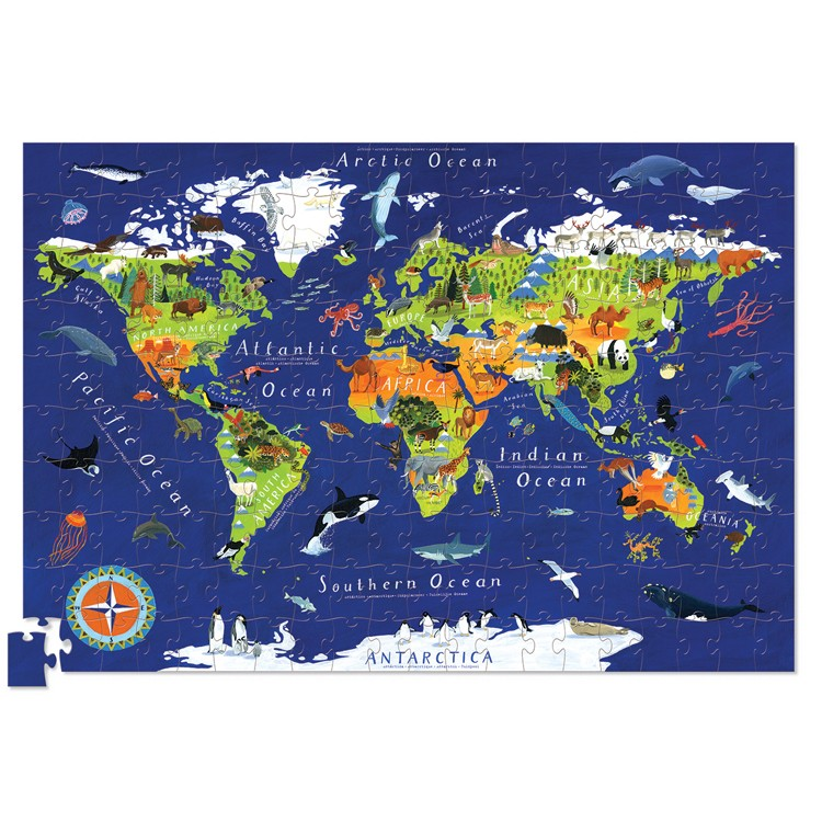 World puzzle and poster 200pc tube the wellington childrens bookshop gumiabroncs Image collections