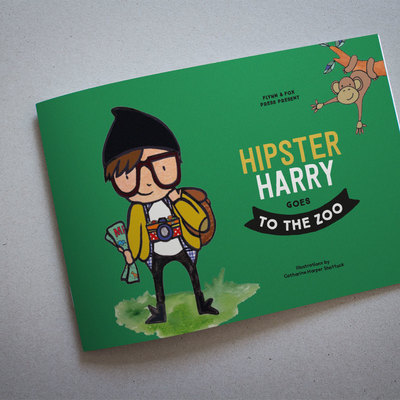 Hipster Harry Goes To The Zoo