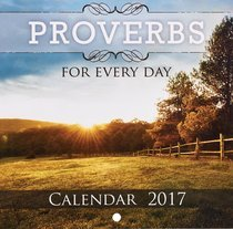 Small Calendars 2017 Proverbs CALS159