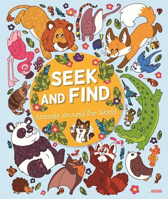Seek and Find Animals Around the World