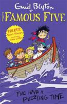 Five Have a Puzzling Time (Famous Five Colour Reads #5)