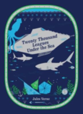Twenty Thousand Leagues Under the Sea (Leather Bound)