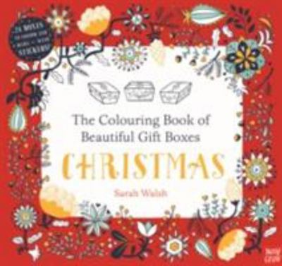 Christmas: The Colouring Book of Beautiful Gift Boxes