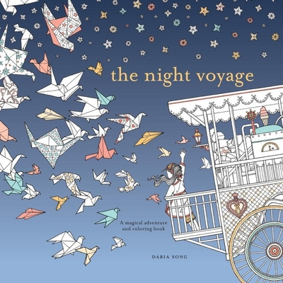 Night Voyage: Magical Adventure and Colouring Book