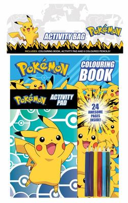 Pokemon Activity Bag
