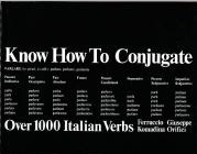 Know How To Conjugate Over 1000 Italian Verbs