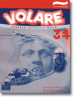 Volare 3 & 4 Italian Activity Book