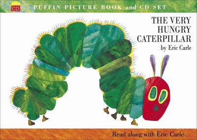 The Very Hungry Caterpillar (PB Book & CD)