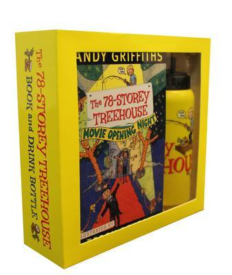 The 78-Storey Treehouse (Book & Drink Bottle Gift Pack)