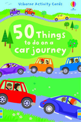 50 Things to Do On a Car Journey (Usborne Activity Cards)