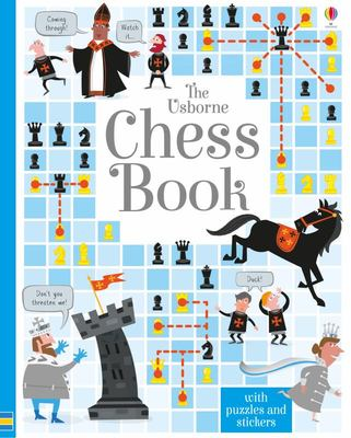 Chess Book: with Puzzles & Stickers