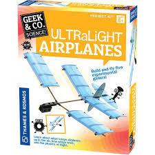 Ultralight Airplanes : Build and Fly Five Experimental Gliders! 550014
