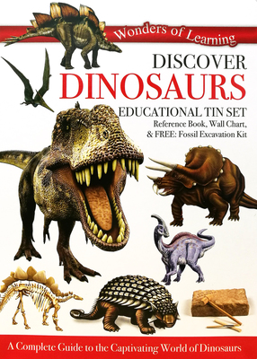 Discover Dinosaurs: Educational Tin Set (Wonders of Learning)