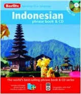 Berlitz Indonesian Phrase Book and CD Travel Pack