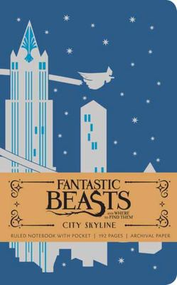 Fantastic Beasts : City Skyline Ruled Notebook HB