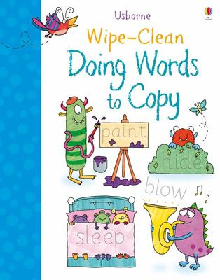 Doing Words to Copy (Wipe-Clean)