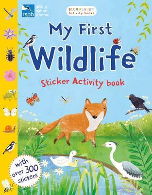 My First Wildlife Sticker Activity Book