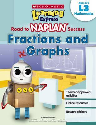 Learning Express NAPLAN: Fractions Graphs L3