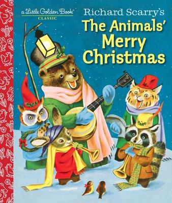 LGB Little Golden Book - Richard Scarry's The Animals' Merry Christmas (HB)