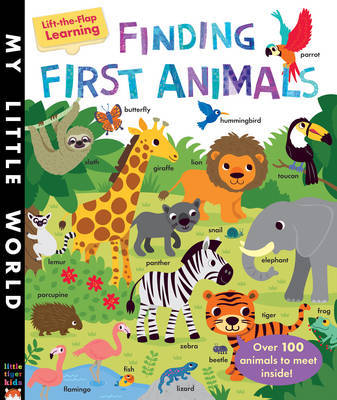 Finding First Animals: A Lift-the-Flap Learning Book