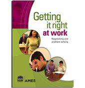 Getting it Right at Work: Negotiating and Problem Solving - Workbook