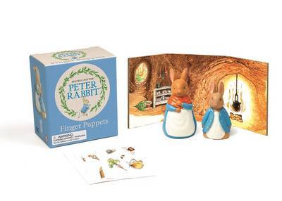 Peter Rabbit Diorama with Finger Puppets & Stickers
