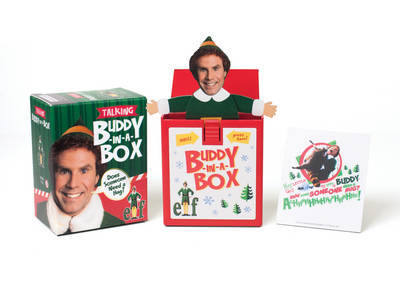 """Elf Talking Buddy-In-A-Box: """"Does Somebody Need a Hug?"""""""