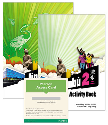 Jinbu 2 Student Book/Activity Book/Pearson Reader 1.0 Combo Pack