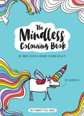 Mindless Colouring Book