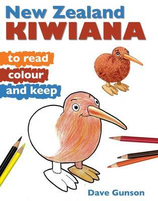NZ Kiwiana to Read Colour and Keep