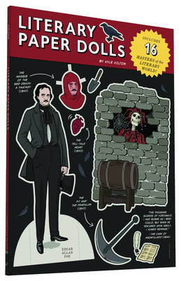 Literary Paper Dolls: Includes 16 Masters of the Literary World!