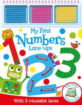 My First Numbers Lace-Ups
