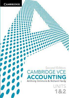 Cambridge VCE Accounting Units 1 & 2 2ed with Access Code - Cambridge