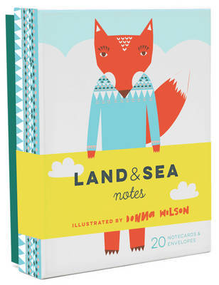 Land & Sea Notes (20 Notecards & Envelopes)